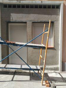 Detalle colocacion de puerta