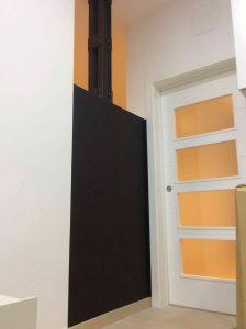 Puerta corredera cocina-salon