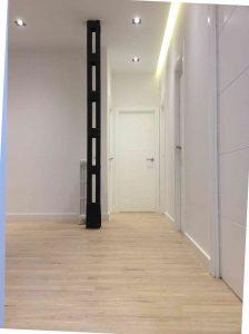 Detalle integracion de pasillo en salon
